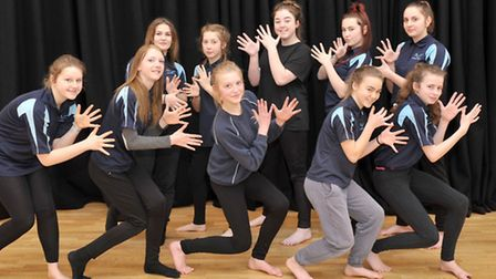 Thomas Clarkson Academy, Wisbech held a Dance triathlon in aid of Sport Relief. Picture: Steve Willi