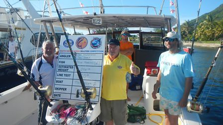 David Hawkeswood and Paul Maris from Takeley won the South Indian Ocean Billfish Competition in Maur