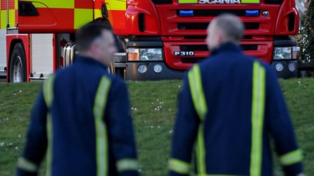 Industrial blaze at Cock Bank, Whittlesey leaves one man hospitalised - firefighters act rapidly to