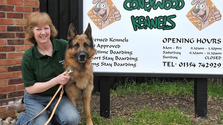 Debbie Glowacki has opened her own dog kennelling business. Picture: Steve Williams.