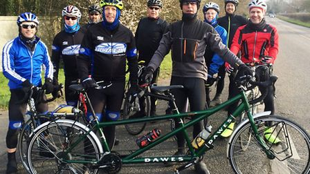 Thirty cyclists from Octagon Cycling Club are pedalling 300 miles over two days in May to raise mone
