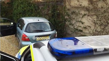Male arrested in Chatteris for drink driving