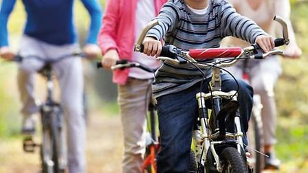 Family biking is being made safer in Ely thanks to a new cyclepath