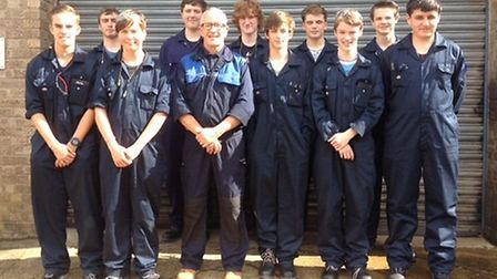 Metalcraft at Chatteris - the 2015 apprentice intake