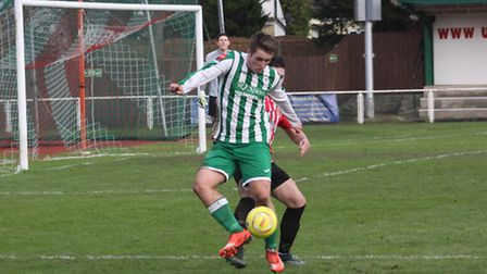 Ryan Sharman's 10th goal of the season wasn't enough as Soham Town Rangers were hammered 6-1 by Cray