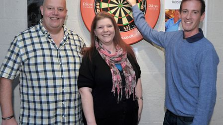 Mark Cross' 6th Cancer Charity Darts Fun Day in aid of the Oncology Department at Peterborough City