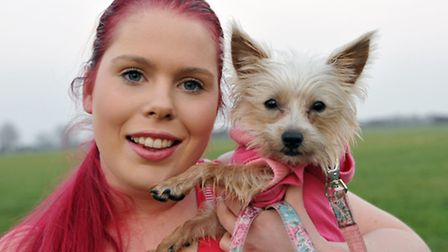 Emma Butler of Emma's Post Paws is taking part in Tough Mudder to raise money for Ravenswood Pet Res