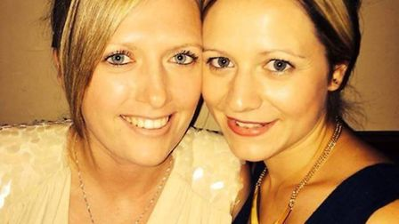 Jade Pointer and her partner Kirsty Ray