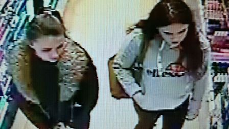 Police have released CCTV images of four women they would like to speak to in connection with the th