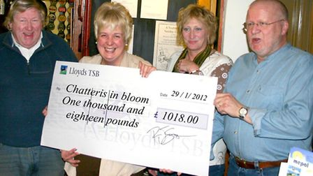 A special planter is to be unveiled in memory of Chatteris In Bloom founder member Ormond Connolly p
