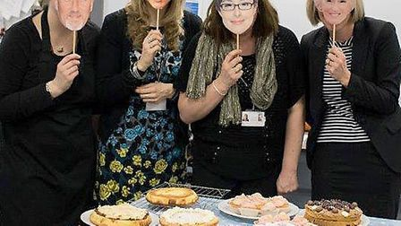 Sport relief bake off at Cromwell College Chatteris.