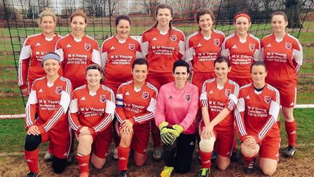 A double from Amy Newell helped Park Ladies record their ninth straight S-Tech Women's Championship
