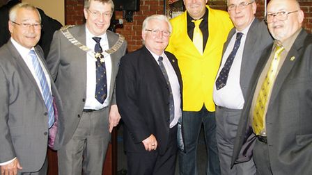 Jay McGee performs at Wisbech Business and Professional Men's Club