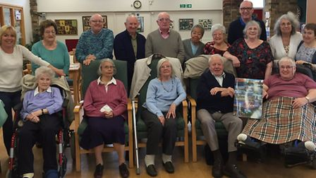 Cambridgeshire Age UK residents who have signed a special card for the queen