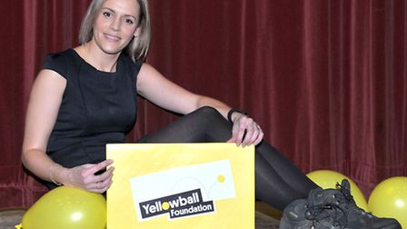 Deborah Jones is preparing to climb the Le Brevent mountain in France for the Yellow Ball Foundation