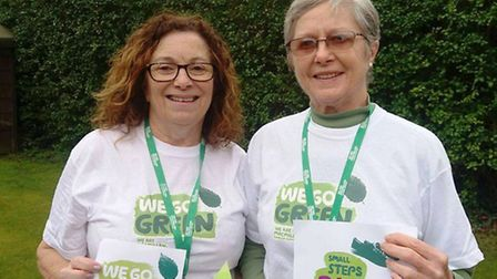 Go Green for Macmillan in March