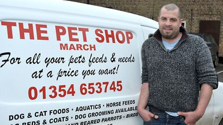 The Pet Shop Discount Warehouse. Rob Phipps.