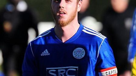 Takeley player-manager Alex Martin. Picture by Jamie Pluck