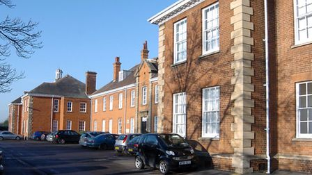 Fenland Hall, the home of Fenland District Council.