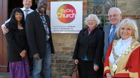 Olive Tree Fellowship in Ely changed its name to Ely City Church.Left: Church leader Simon Payne and