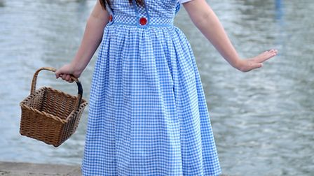 Mary Cameron as Dorothy in KD Theatre Production's The Wizard of Oz at The Maltings, Ely. Picture: