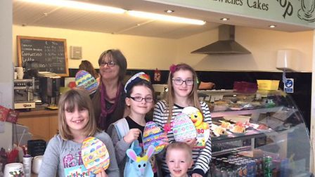 Littleport Events and Sharmans Cafe, joined forces to provide a free Easter Egg Hunt along with a Co