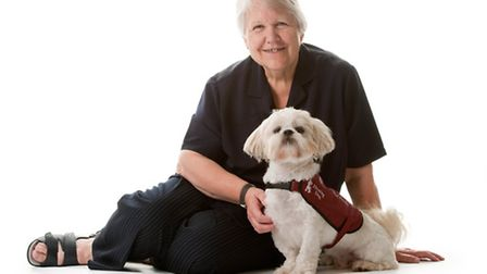 Hearing Dogs for the Deaf fashion show has been organised by Jean Lawrence to celebrate having had a