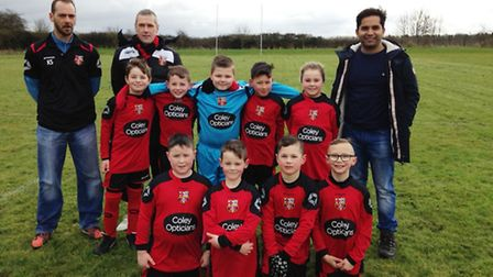 Coley Opticians sponsor the kit for March Town Athletic FC