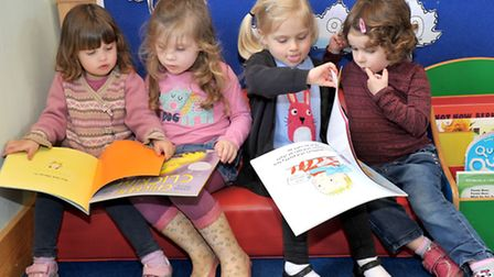 Isleham pre school, Outstanding ofsted. Picture: Steve Williams.