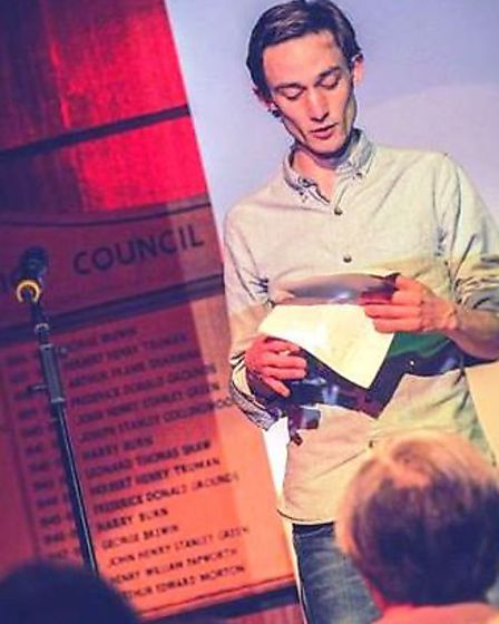 Former Fenland Poet Laureate (2015) Jonathan Totman reads some of the poems he wrote during his year