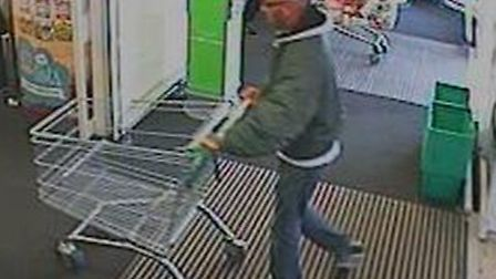 Police are appealing for information following a racially aggravated incident which took place insid