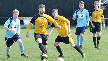 Dan Woods' fifth goal of the season was March Town's only highlight in their 3-1 defeat to Diss Town
