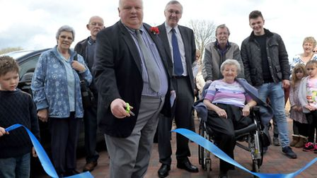 Grand opening of the new Christchurch community Centre. Opened by Cllr Nigel Russell. Picture: Ste