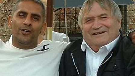 Paul Gill, father of Chatteris boxing star Jordan Gill, and Matty Payne, who died earlier this year.