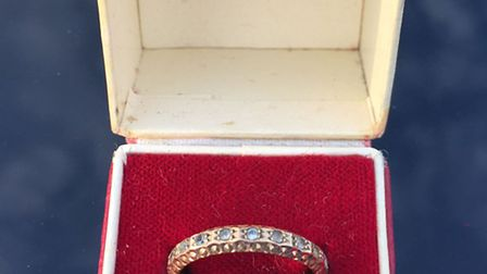Police are trying to find the owners of these rings and a number of other items that were recovered