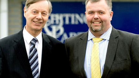 Whiting & Partners. Left: Managing Partner Mark Haydon with Keith Day.