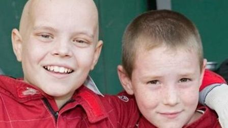 Liam Fairhurst and brother Callum, who is due to return from his round the world charity cycling tou