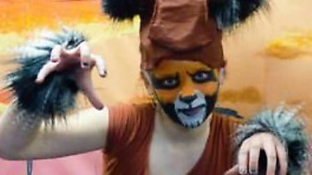 Pupils at St Andrew's School in Soham perform the Lion King