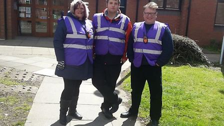 Wisbech Citizen's Patrol go out for the first time