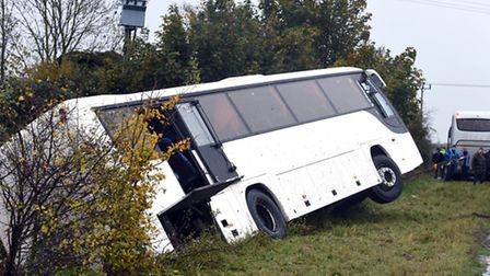 Latest from A141 bus collision as recovery begins