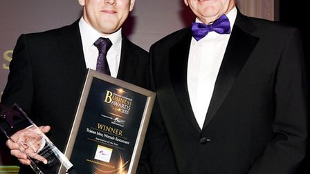 Tristan Mee was last year's Apprentice of the Year