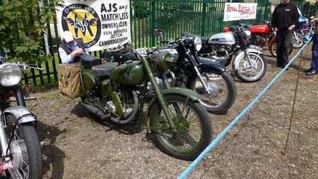 Motor Bike and Cycle Day at Prickwillow Museum