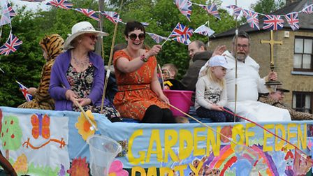 Stretham feast float parade and village events. Picture: Rob Morris.