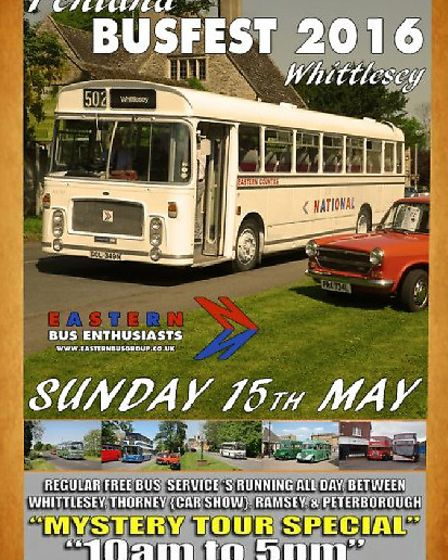 Fenland Busfest 2016 Whittlesey