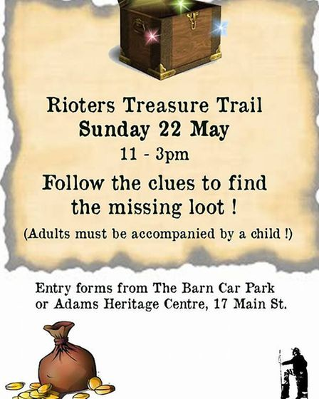 Rioters Treasure Trail at Littleport