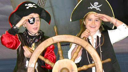 Pupils enjoy learning about pirates at King's Ely Acremont.