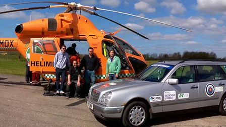 March friends are raising money for Magpas with a road trip