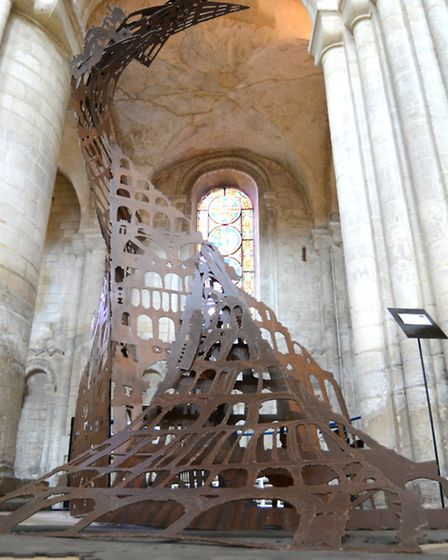 The Secret Life of Ely Cathedral exhibition.
