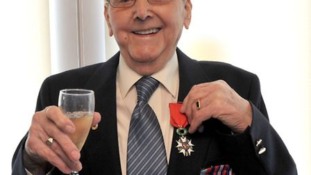 Soham man, Jack Watson, 93, to be appointed to the rank of Chevalier in the Order National de la Leg