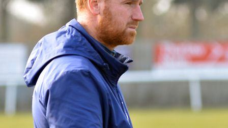 PROUD: Ely City boss says his side gaining promotion back to the Thurlow Nunn Premier Division is a